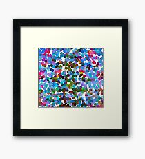 Pointillism Framed Print