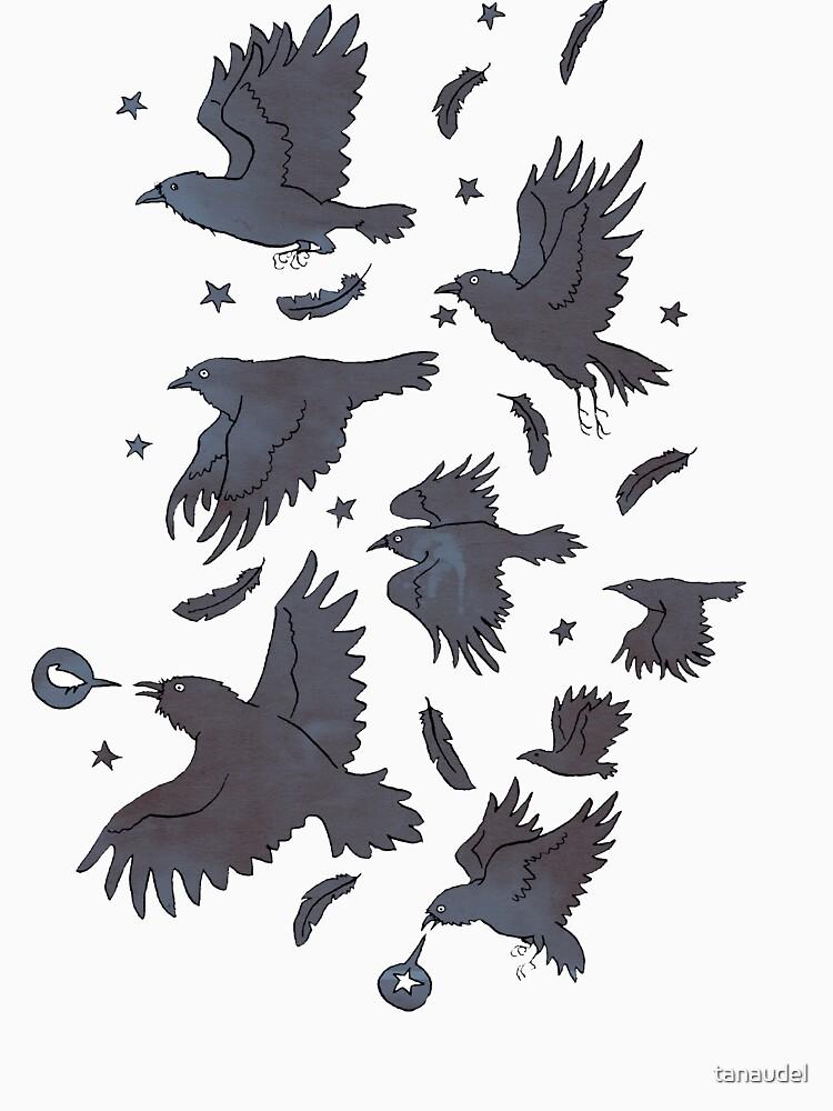 Flight of Ravens by tanaudel
