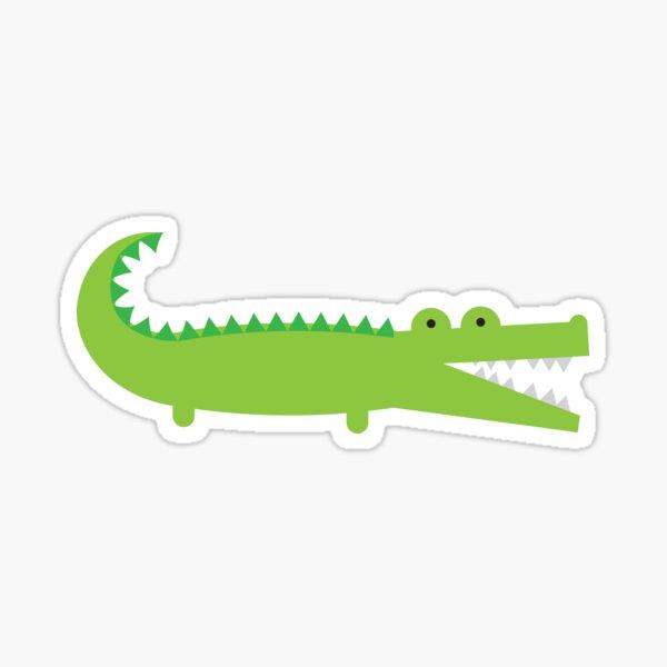Alligator vert Sticker