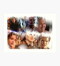 Buffy - Season 1-6 Big Bads Art Print