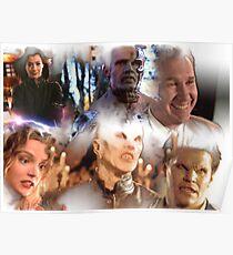 Buffy - Season 1-6 Big Bads Poster