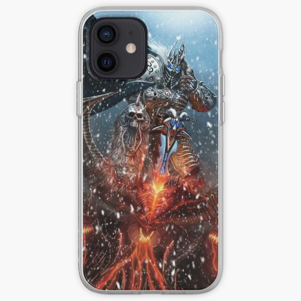 lich king  world of warcraft iPhone Soft Case