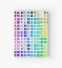 Crayon Color Chart Hardcover Journal