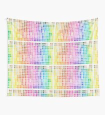 Crayon Color Chart Wall Tapestry