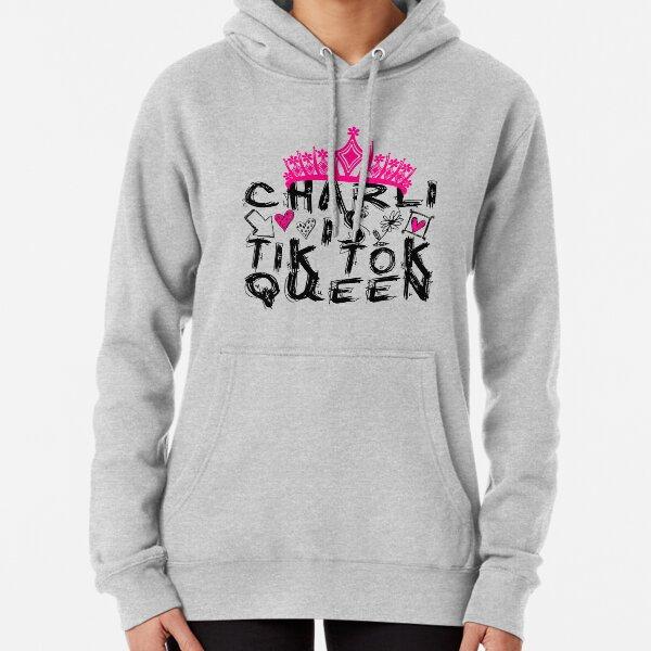 Charli Is Tik Tok Queen Pullover Hoodie