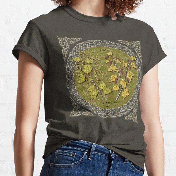 Tree Calendar Birch Classic T-Shirt
