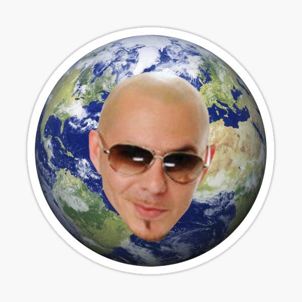 Mr Worldwide Sticker