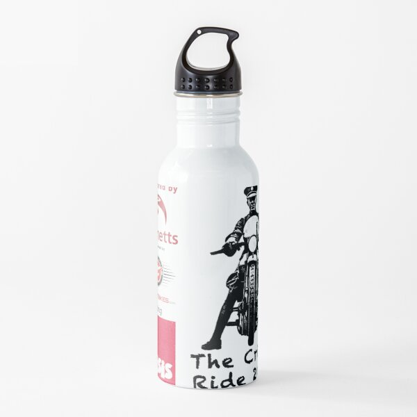 The Crisis Ride 2021 - Official T Shirt of the Ride Water Bottle