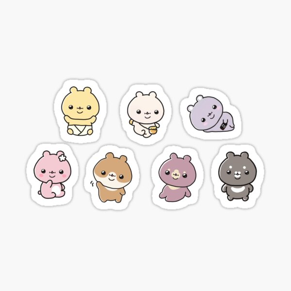 Monsta X Twotuckgom Sticker