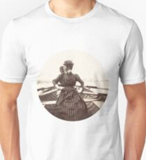 Woman Rowing Unisex T-Shirt