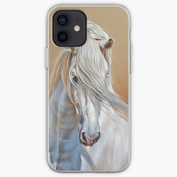 Andalusian stallion iPhone Soft Case