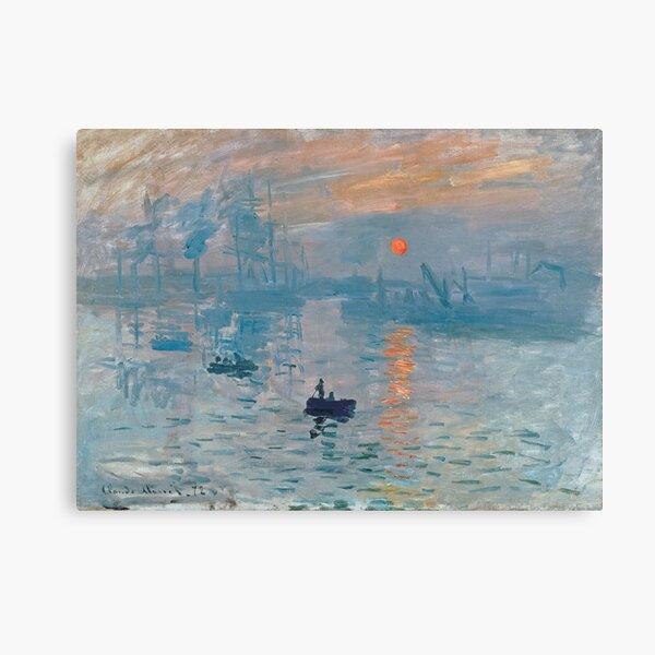 Claude Monet - Impression, Sunrise (1872) Canvas Print