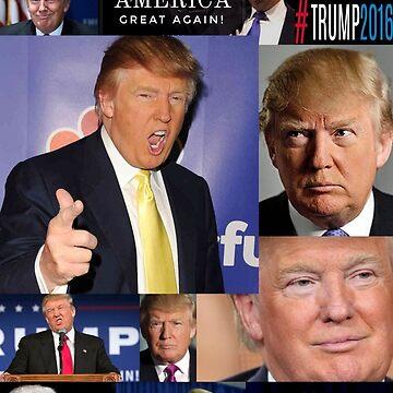 Trump Phone Case by ilikeeggs