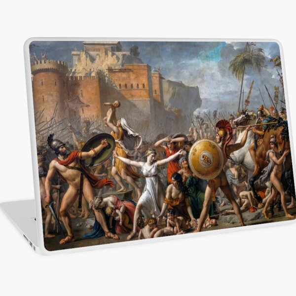 The Intervention of the Sabine Women Jacques-Louis David Laptop Skin