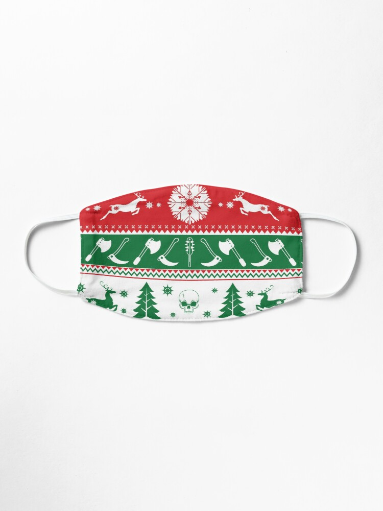 Alternate view of Ugly Horror Christmas Sweater Mask