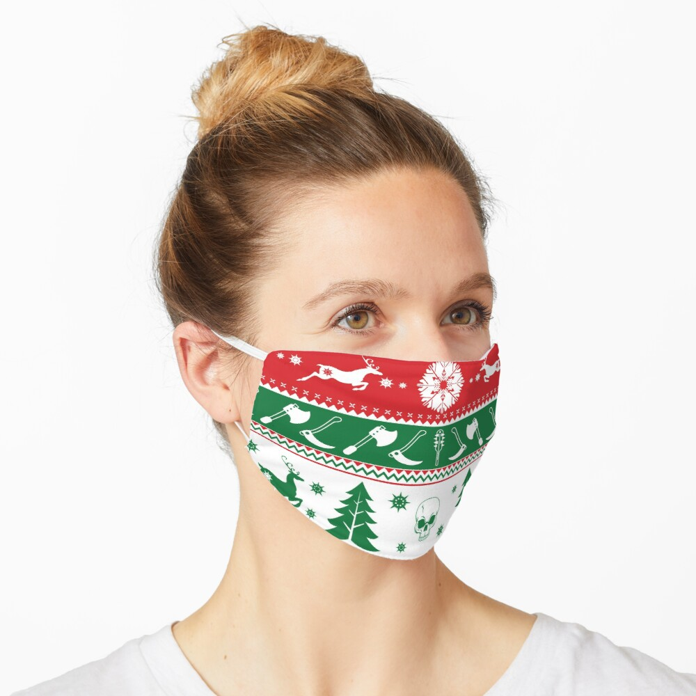 Ugly Horror Christmas Sweater Mask