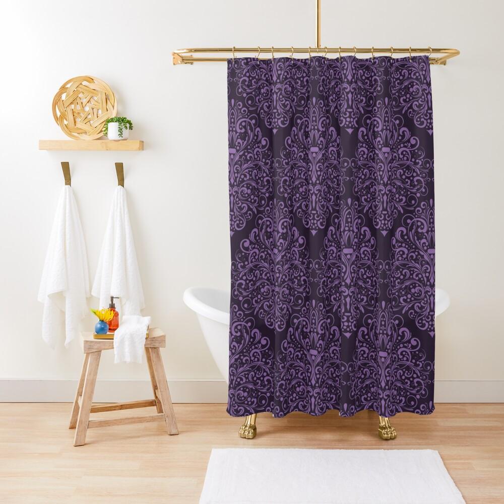 Damask Barok Shower Curtain