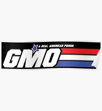 GMO, A Real American Poison Poster