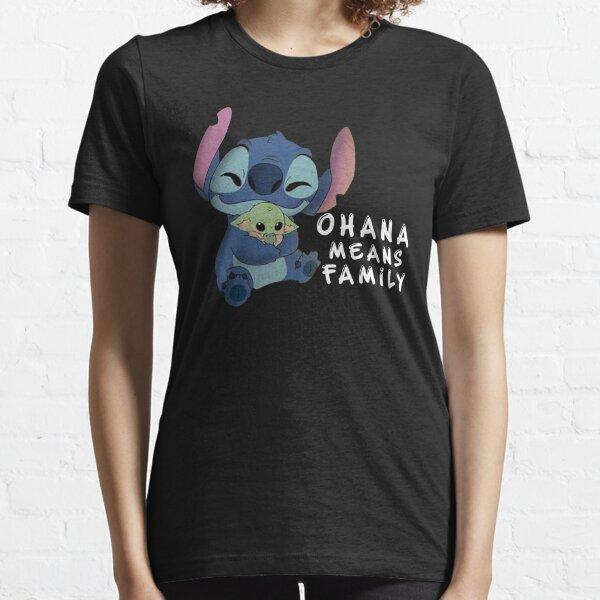 stitch ohana signifie Famille T-shirt essentiel