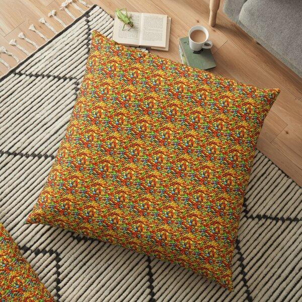 COLOUR FULL PRINT Floor Pillow
