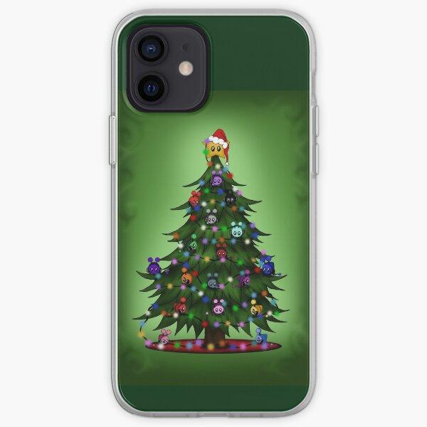 Weihnachtsbaum mit Mimis iPhone Flexible Hülle