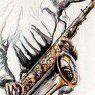 Saxophone-Jazz 1 by Philip Gaida
