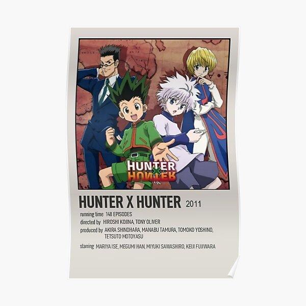 Original Hunter Manga Collage Poster