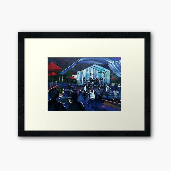 Rose Carleo Band live at the Hawkesbury Hotel Framed Art Print