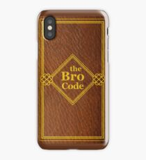 HIMYM - The Bro Code iPhone Case