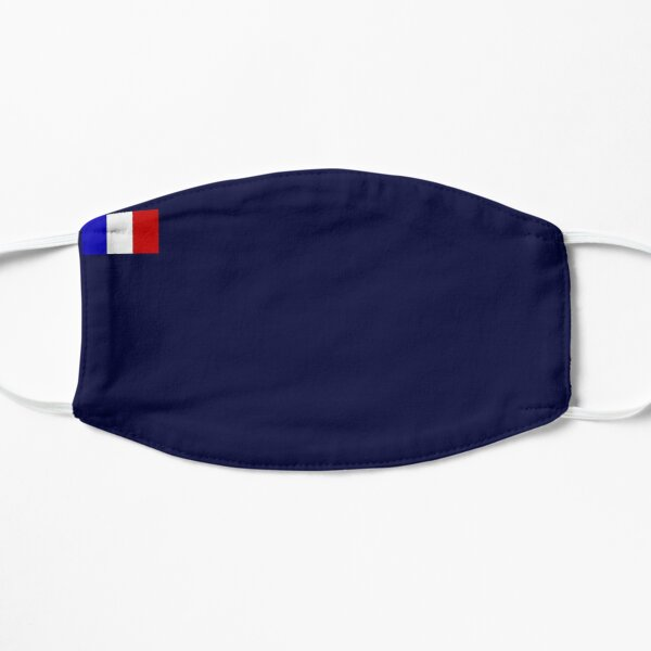 drapeau France Masque sans plis