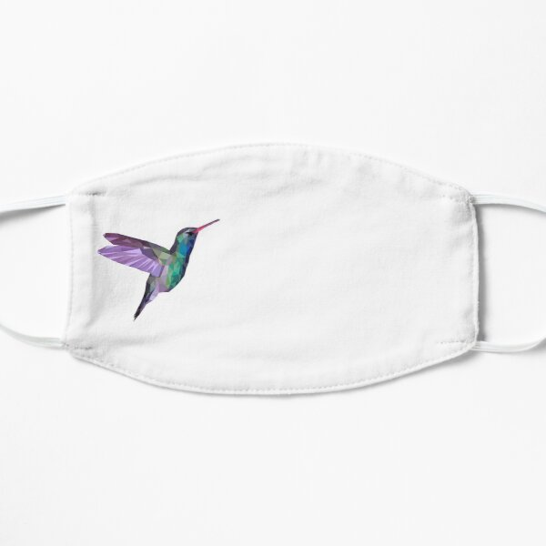 Hummingbird poly Flat Mask