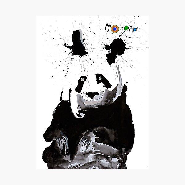 Ralph Steadman's Anda Panda  Photographic Print
