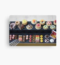 Rainbow Pastry and Cakes Canvas Print