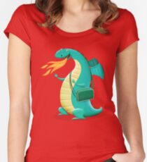 Sunshine Dragon Women's Fitted Scoop T-Shirt
