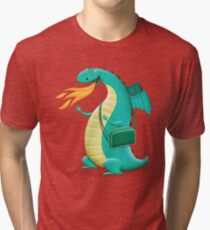 Sunshine Dragon Tri-blend T-Shirt