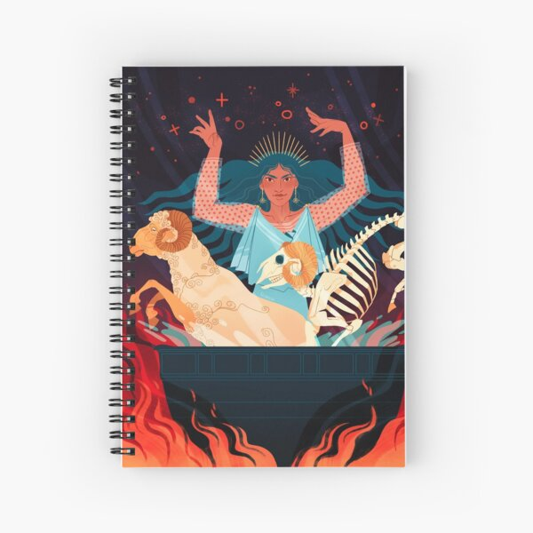Medea Spiral Notebook