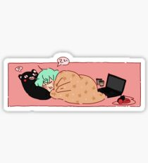 Nap Time Sticker
