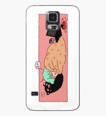Nickerchen-Zeit Hülle & Klebefolie für Samsung Galaxy