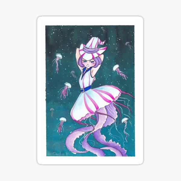 witchtober2020 - jellyfish Sticker