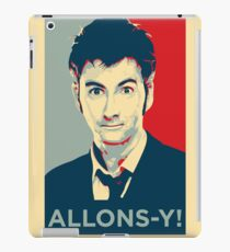 Tenth Doctor - Allons-y iPad Case/Skin