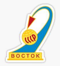 Vostok - USSR Space Program  Sticker