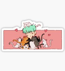 Cat Sir Sticker