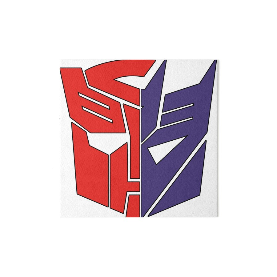 quottransformers autobotdecepticonquot art boards by fith