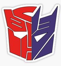 Transformers Autobot/Decepticon Sticker