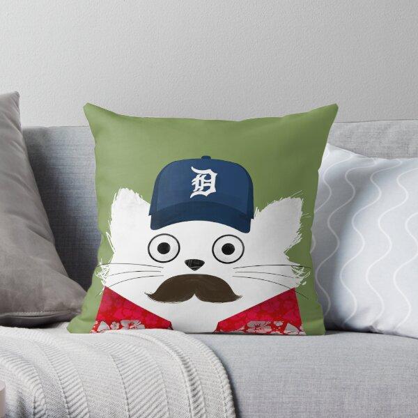 Cat Magnum  Throw Pillow