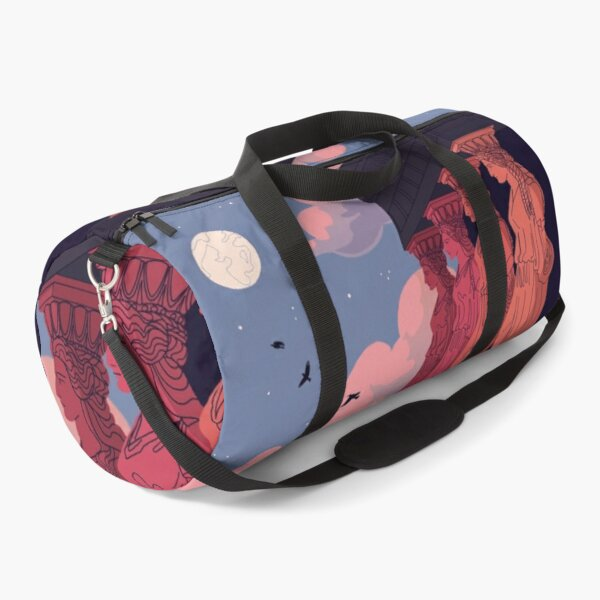 Caryatids at Dusk Duffle Bag