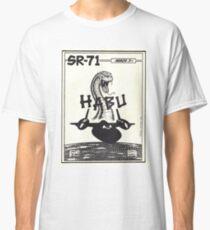 Lockheed SR-71 Blackbird - Habu Ichi Ban Classic T-Shirt