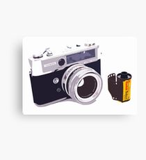 Film camera Canvas Print