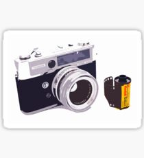 Film camera Sticker