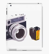 Film camera iPad Case/Skin